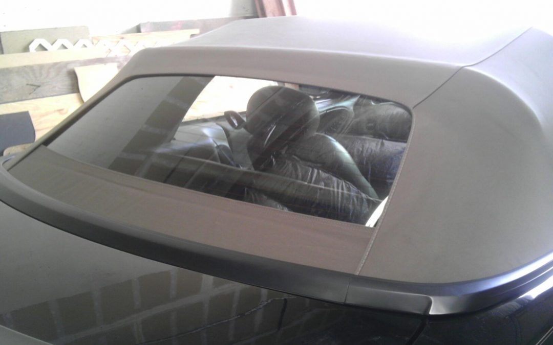 2004 Mustang Convertible Rear Window Replacement