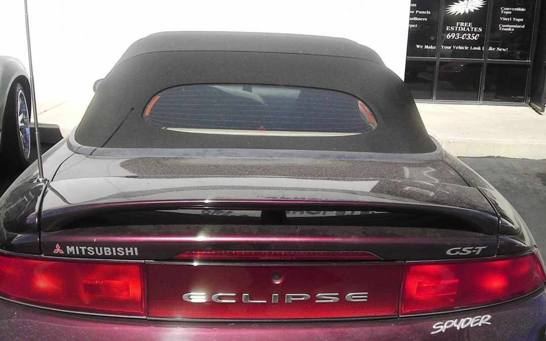 Mitsubishi Eclipse Convertible Top